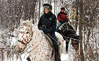 Niagara Riding Stables Winter Rides