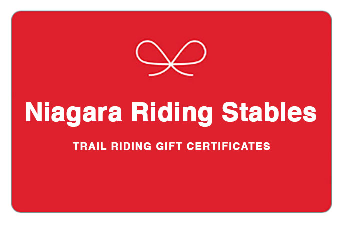 Niagara Riding Stables Gift Certificate